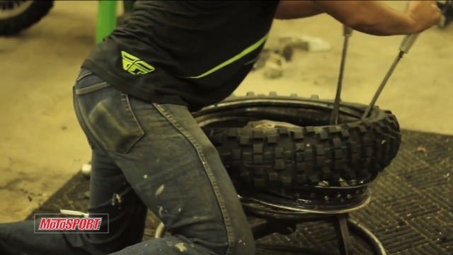 How To Change A Dirt Bike Tire Motosport