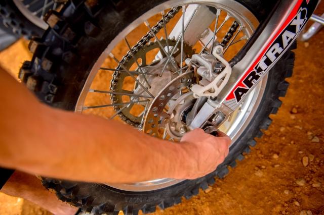 How To Tighten a Dirt Bike Chain | MotoSport