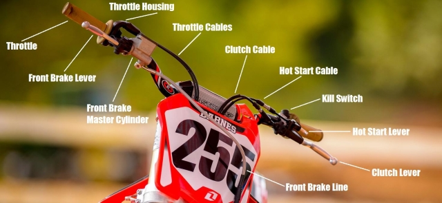 Dirt Bike Handlebars  U0026 Controls Explained