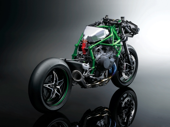 Kawasaki Ninja H2r Unveiled At Intermot Motosport