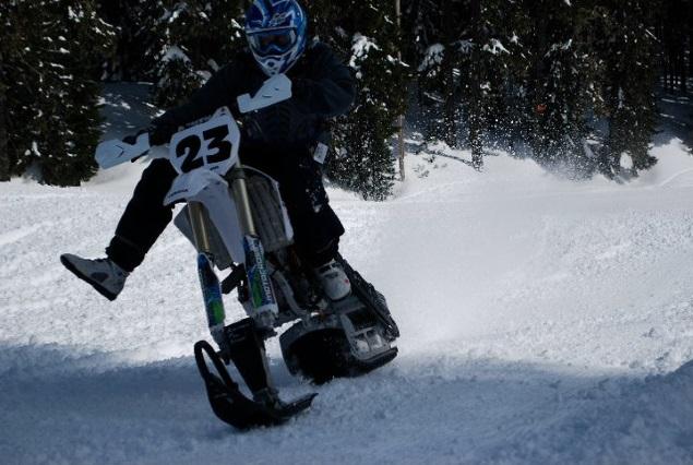 Convert Your Dirt Bike Into A Snowbike Motosport