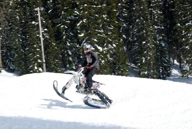 Dirt Bike Snowmobile >> Convert Your Dirt Bike Into A Snowbike Motosport