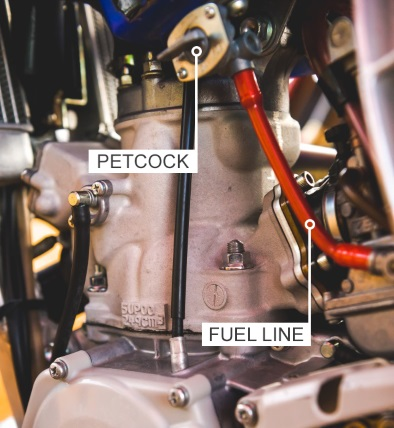 How To Replace The Fuel Line In A Dirt Bike Motosport. Petcock And Fuel. Yamaha. 2007 Yamaha 50cc Scooter Fuel Line Diagram Picture Placement Baja At Scoala.co