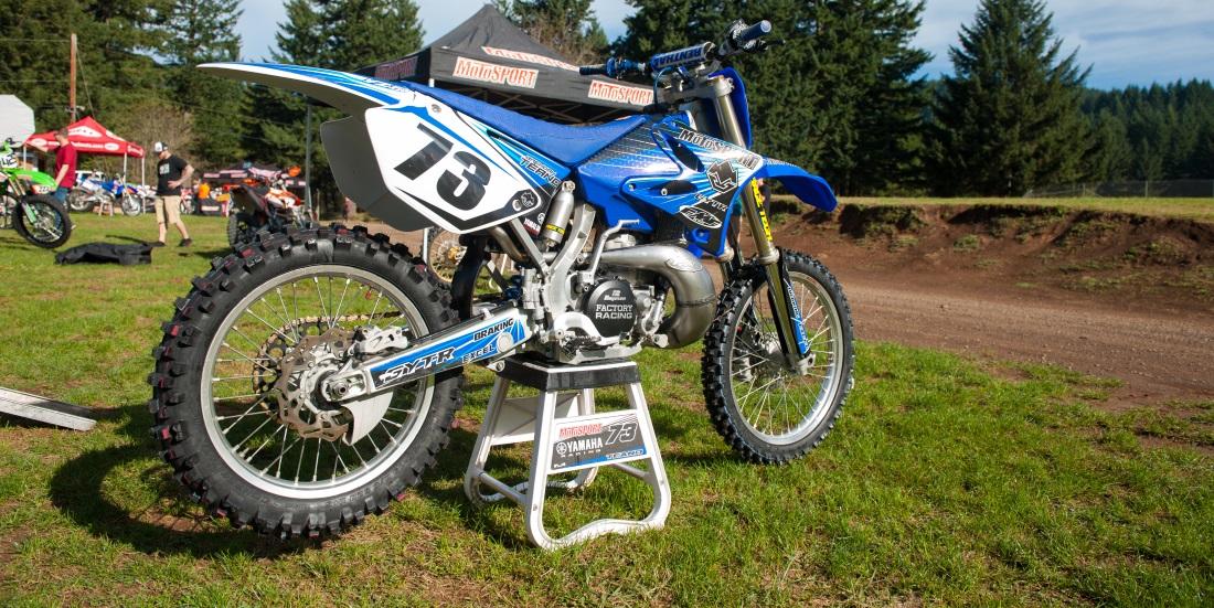 Kawasaki Dirt Bike Stand