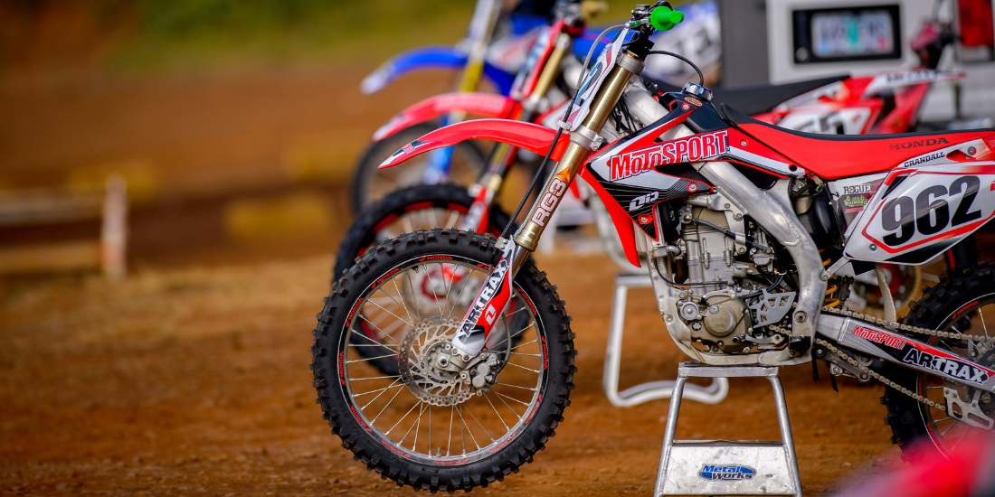 motocross 4 stroke maintenance