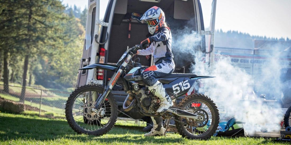 Dirt Bike Throttle Stuck Wide Open | MotoSport
