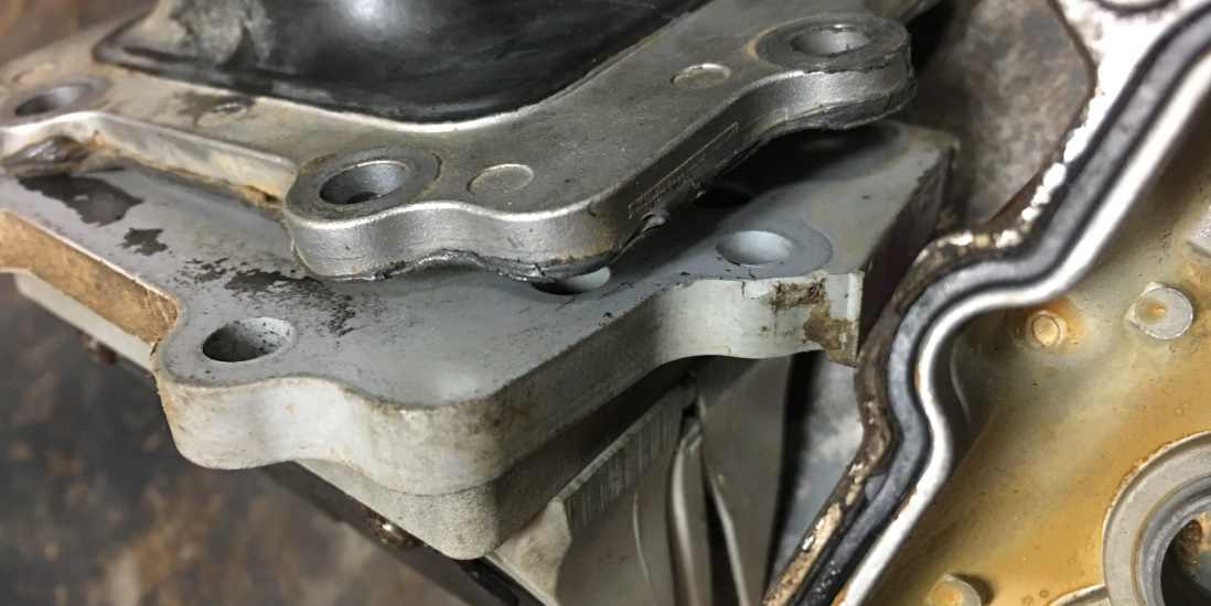 How to remove baked on gaskets