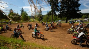 Dirt bike riders at Washougal MX