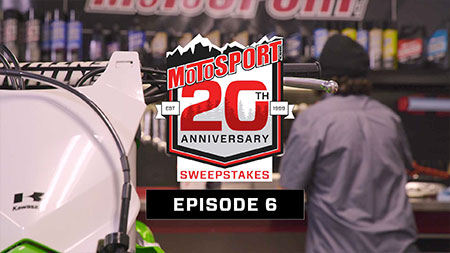 Enter to Win MotoSport's 20th Anniversary Sweepstakes   MotoSport