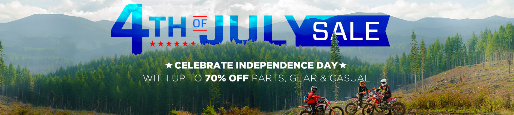 4th of July Sale - Save Up To 70%