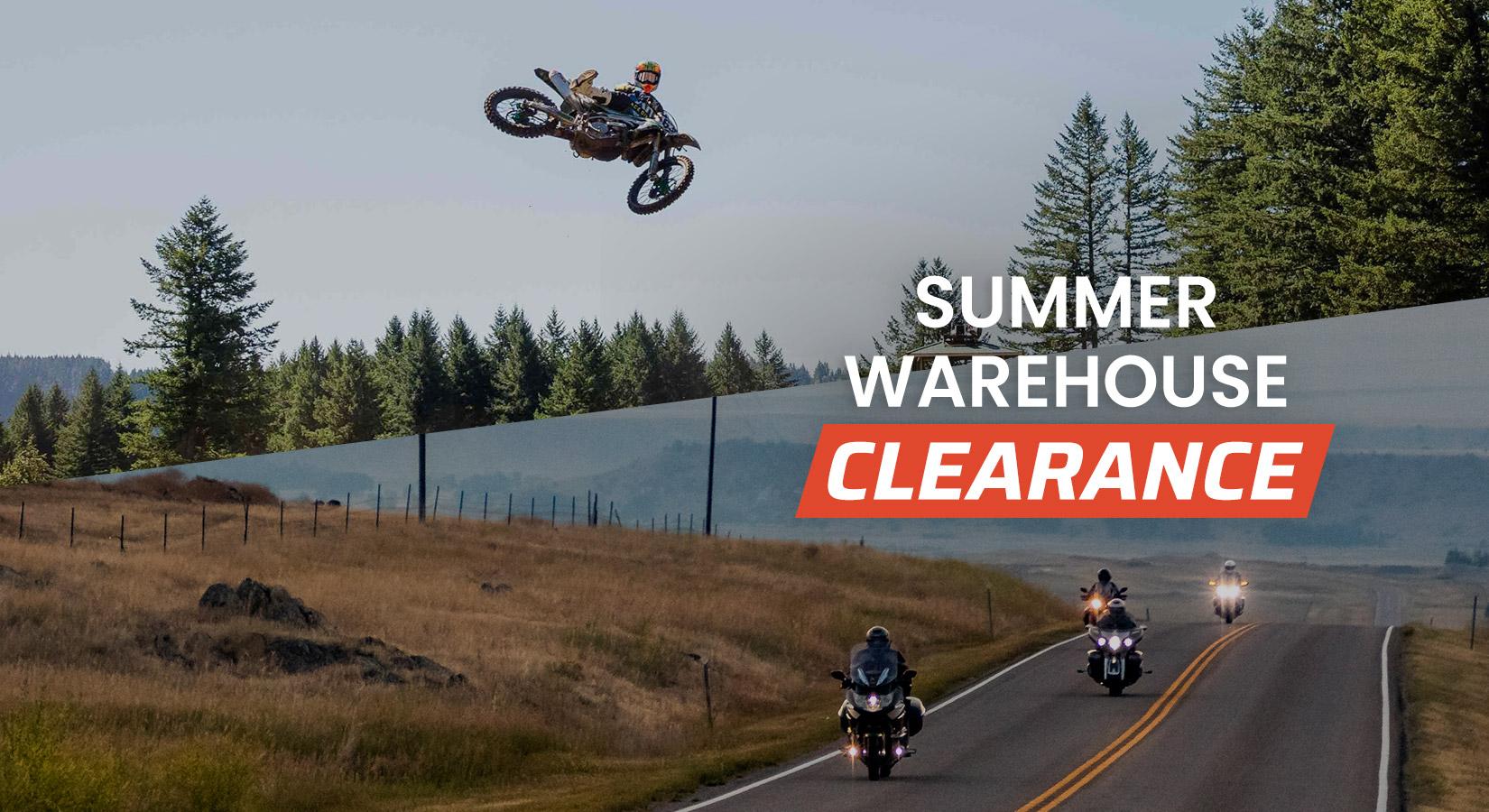 SUMMER WAREHOUSE CLEARANCE