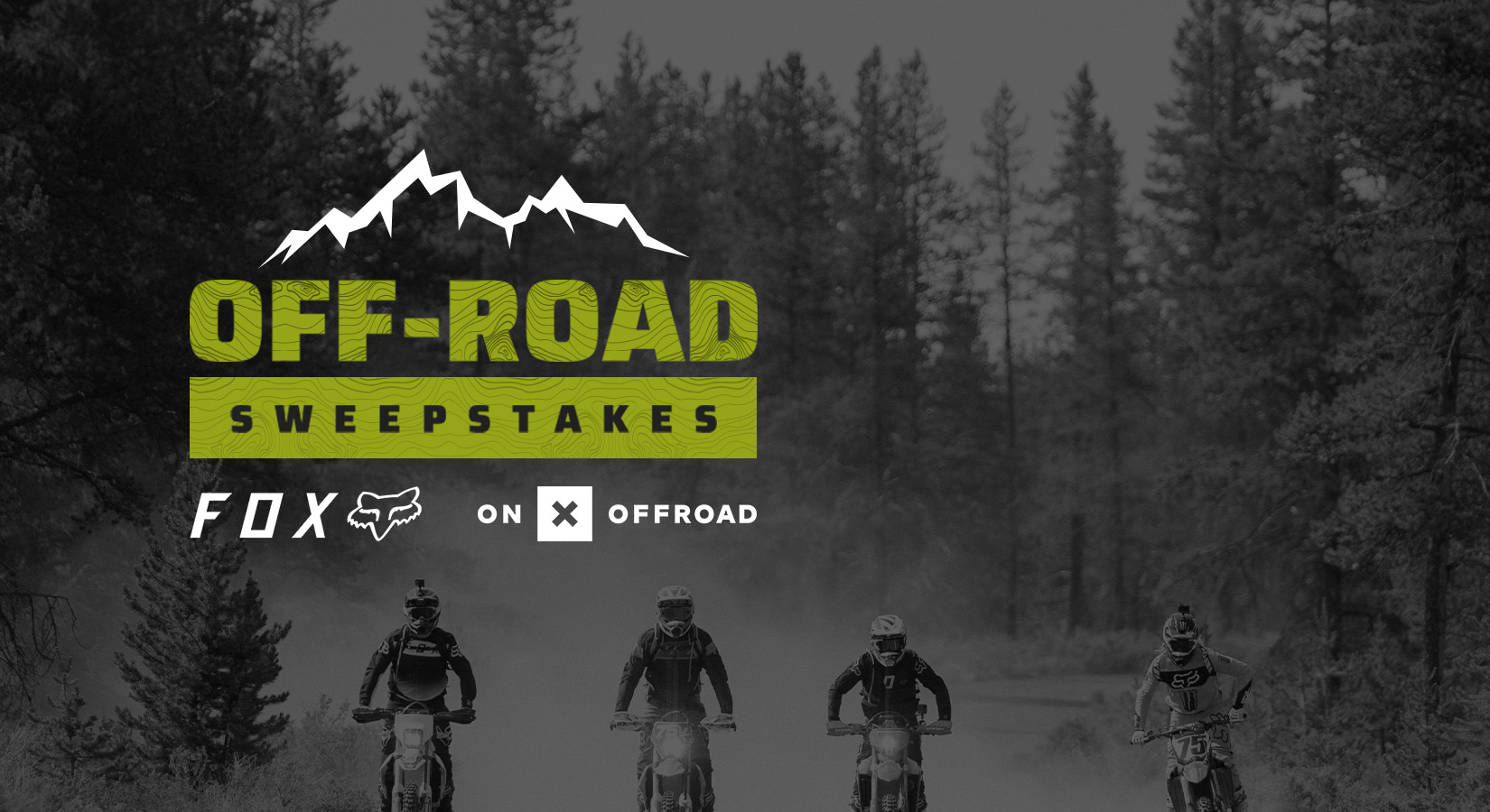 OFF-ROAD SWEEPSTAKES