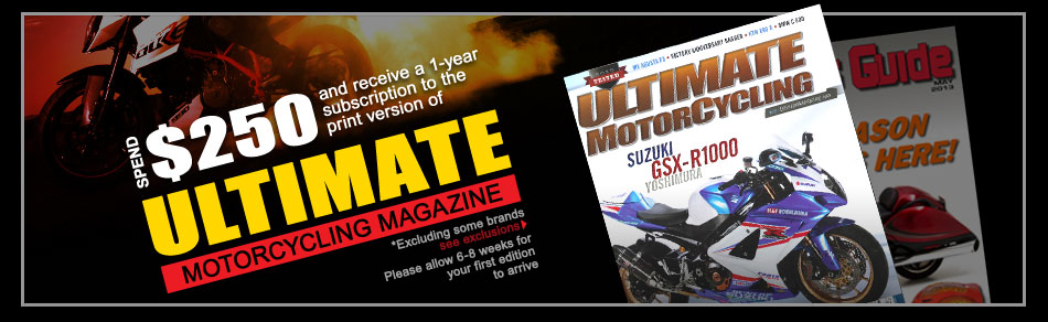Excluding Icon and Shoei. Please Allow 6-8 weeks for your first edition to arrive