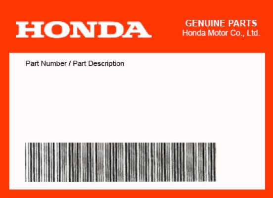 2014 Honda CTX1300A OEM Part 92101-06020-4J