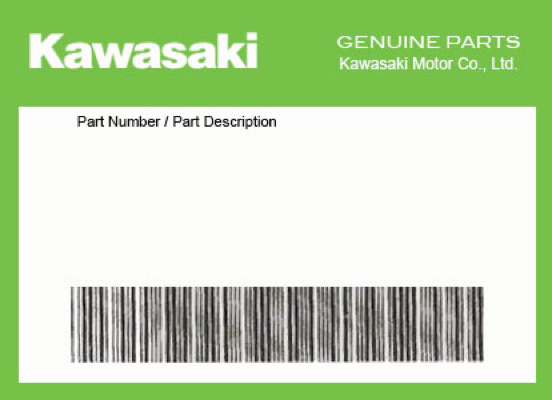 2015 Kawasaki NINJA 1000 (ABS) OEM Part 92173-1199