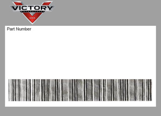 victory victory 7175523 decal-fusebox  warning  7175523